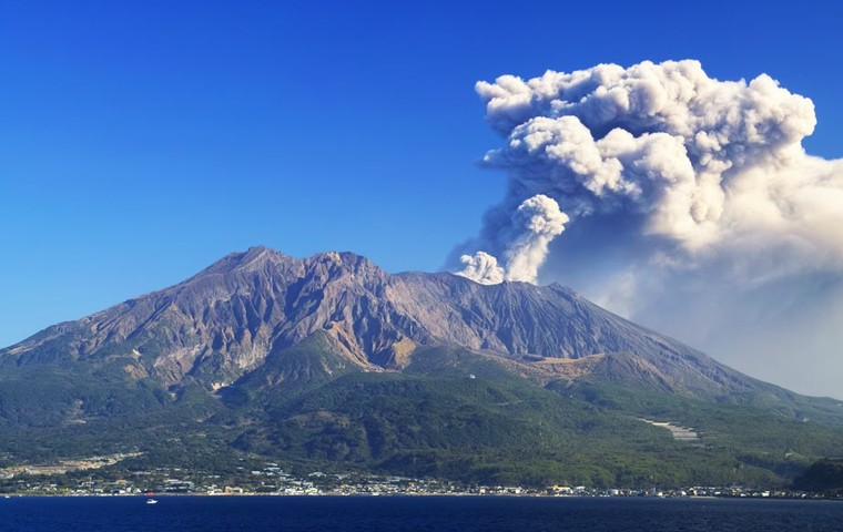 The Power and Natural Beauty of a Real Volcano, at Kirishima-Kinkowan National Park