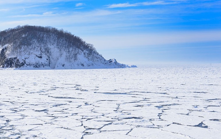Fantastic landscapes you'll only see in winter