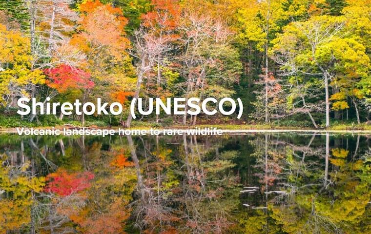 Journey the narrow peninsula of Shiretoko, and explore rugged mountains, serene lakes, and gorgeous coastline