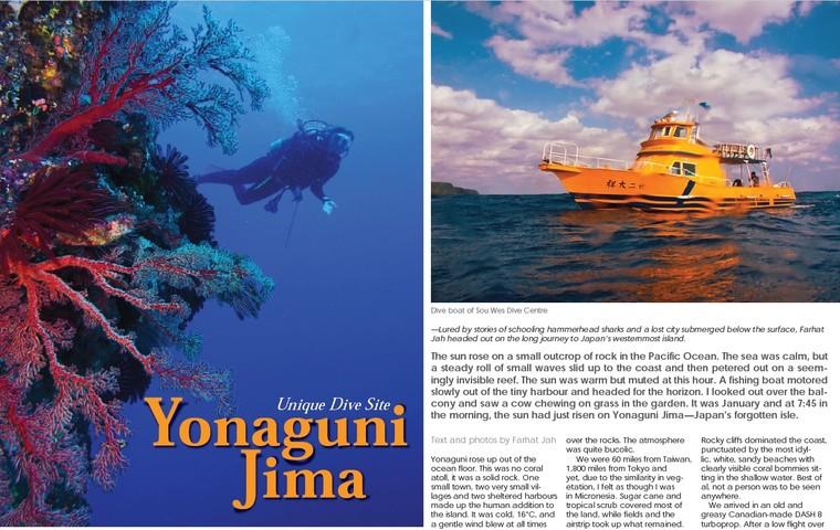 Yonaguni Jima: Unique Diving Site